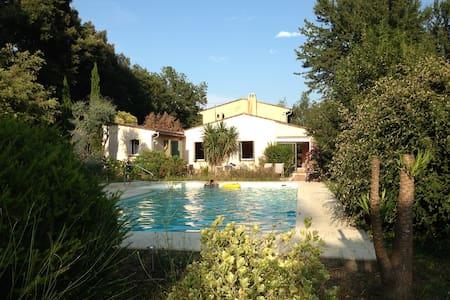 Mougins villa, piscine & jardin