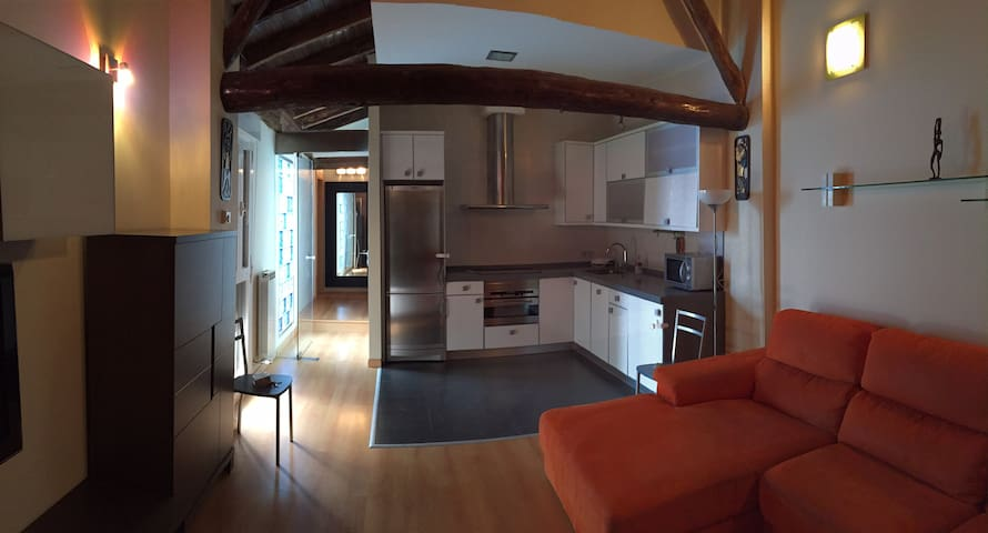 BEAUTIFUL LOFT WITH LARGE TERRACE TO ENJOY IT - Tudela - Apartment