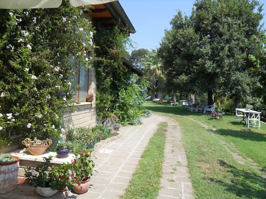 La villa lato Lanuvio