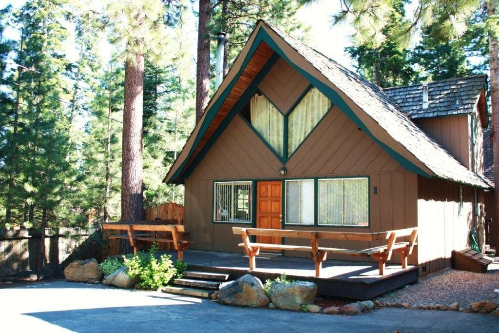 cozy north shore lake tahoe cabin cabins for rent in
