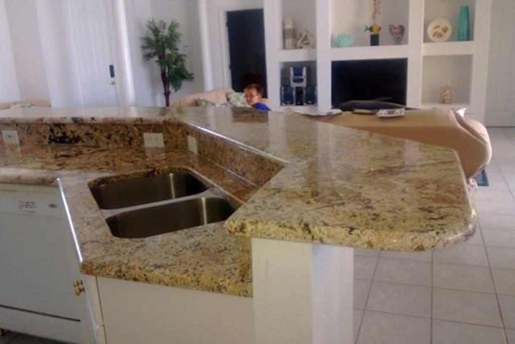 Very nice open floor plan