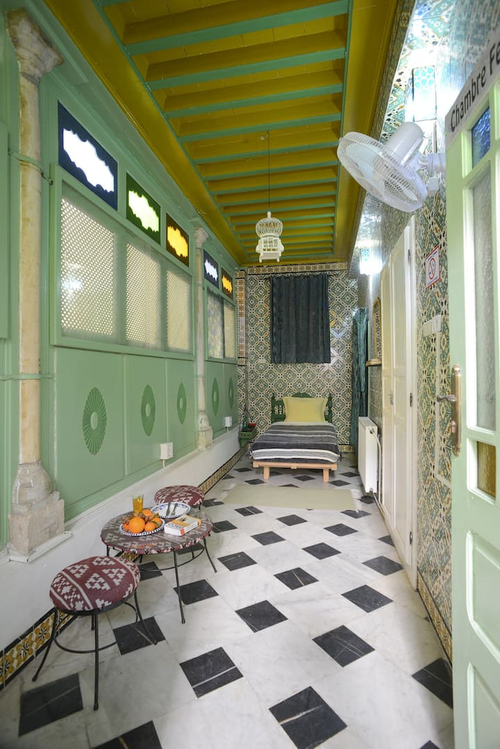 Chambre Feriel à DAR YA Médina de Tunis