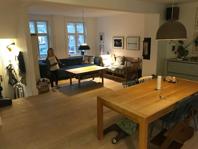 Townhouse in central Copenhagen - Kopenhagen - Huis