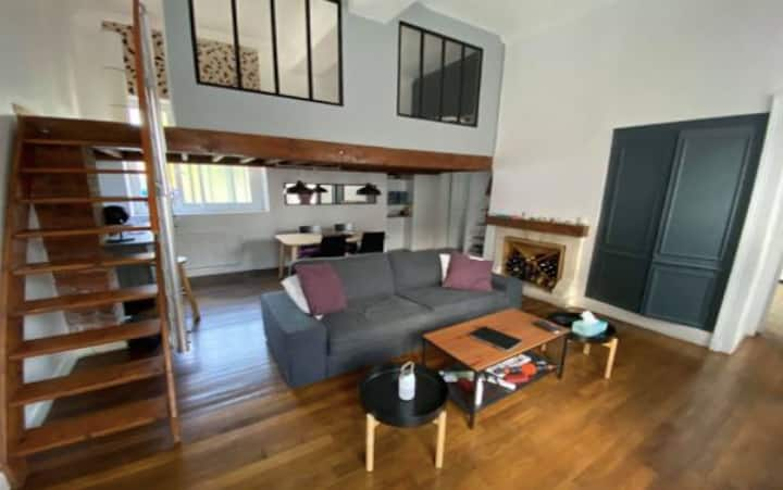 Charmant appartement type loft Vernon