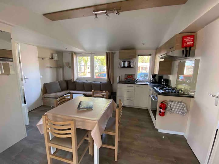 Mobilhome tout neuf pour 6-8 pers sur camping 4*