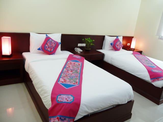 1 Bedroom Twins- 2 guests - Bangkok - Appartement