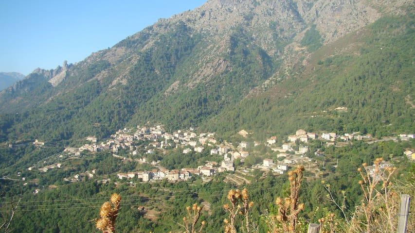Hâvre au Coeur De La Montagne Corse - Venaco - Huis