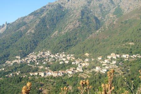 Hâvre au Coeur De La Montagne Corse - Venaco - House