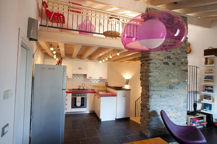 Village House in Ligurian Mountains - Rezzo - Ev