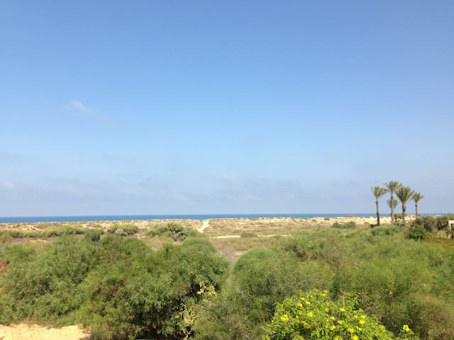 Charming 3BR beach house - Caesarea - Ev