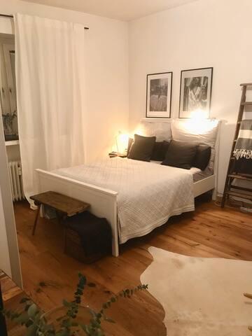 cosy scandi style flat