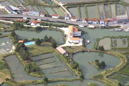 Gîte dans moulin à marées, Royan,IO - Chaillevette - Huis