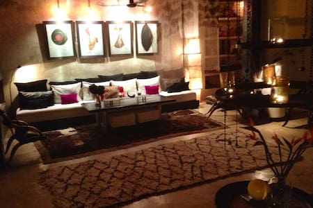 Stylish central Riad with pool&wifi - Marrakesh - House