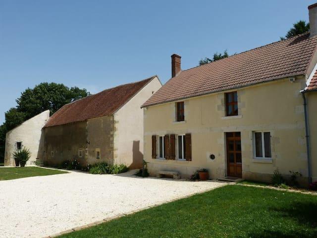 Gîte de charme - La Petite Montoise - Sainte-Colombe-des-Bois - Rumah