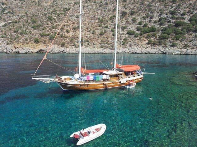 Морской круиз на Гулете Deniz Turu Gület Demre