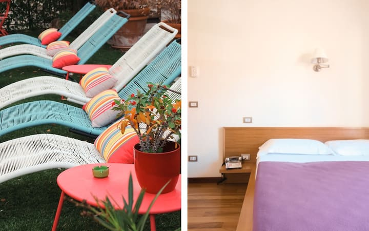 Oasi Boutique Hotel, an attic in Levanto