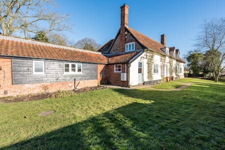 Vicarage Farm - An idyllic rural retreat - Coddenham - Casa