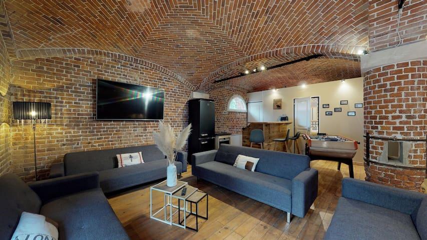 Appartement insolite dans Écurie - 15min D'Amiens