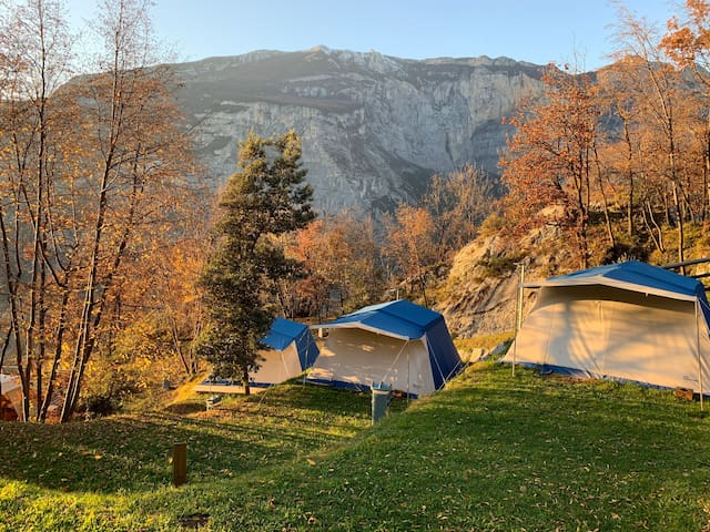 Elegance Glamping nel verde del Trentino