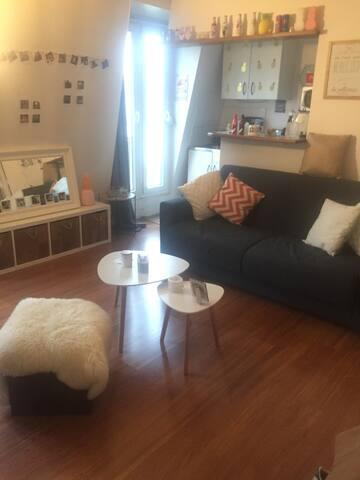 Studio cosy au pied de Montmartre - Paris