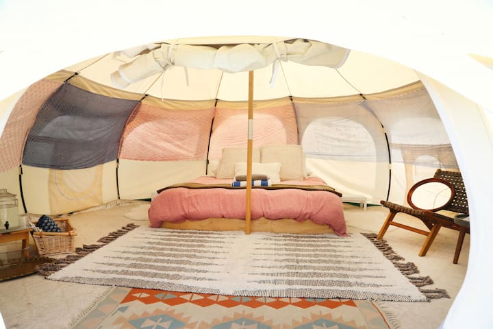 Luxury  Tent at Gatherwild Ranch