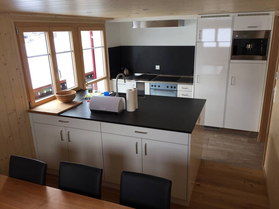 New and modern kitchen.