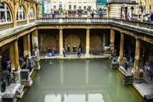 Visit the Roman town of Bath