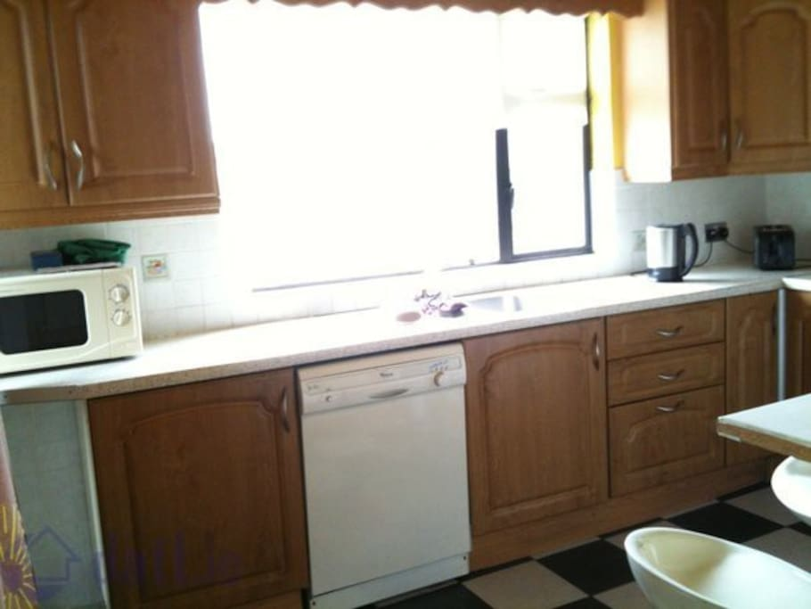 There is a kitchen in the house for existing lodgers.