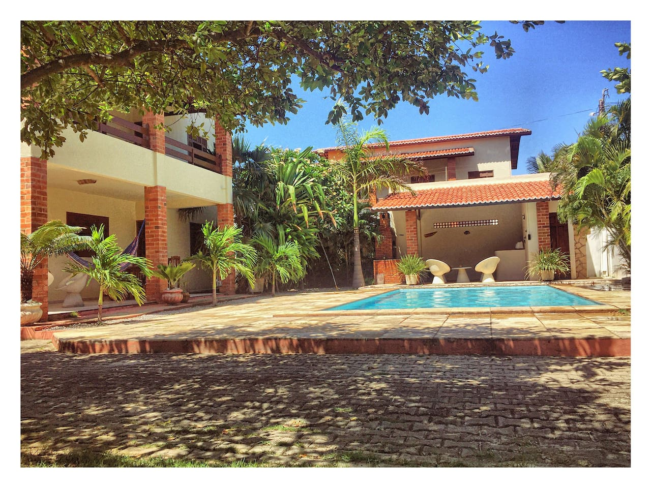 Pool with the house (House Cumbuco)