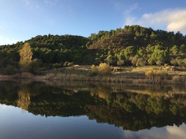 Relax y baño natural en Sierra Aracena