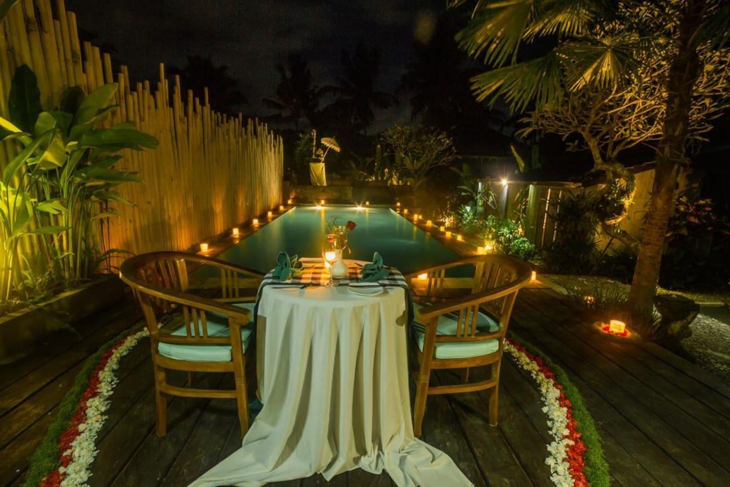 romantic night view