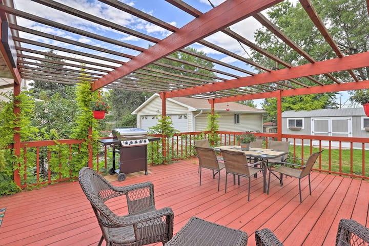 Spacious North Denver Home w/ Fenced Yard & Deck!