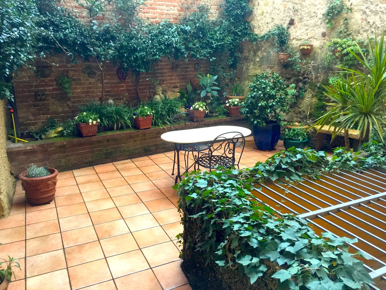 Loft apartment with private terrace for your exclusive use