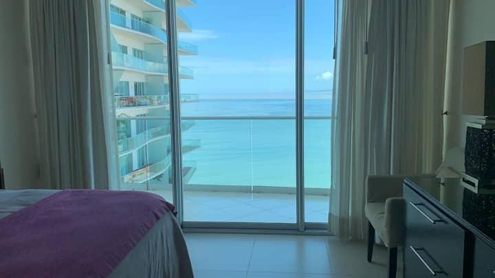 ICON Luxury beach front condo