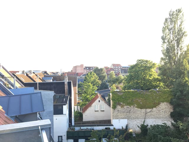 Lovely rooftop apartment in the middel of Aarhus