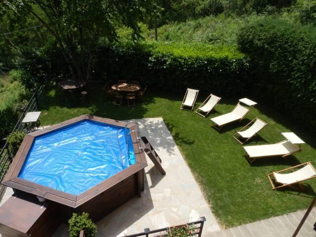 Rustico con piscina in Toscana - Castelnuovo di Garfagnana - Casa