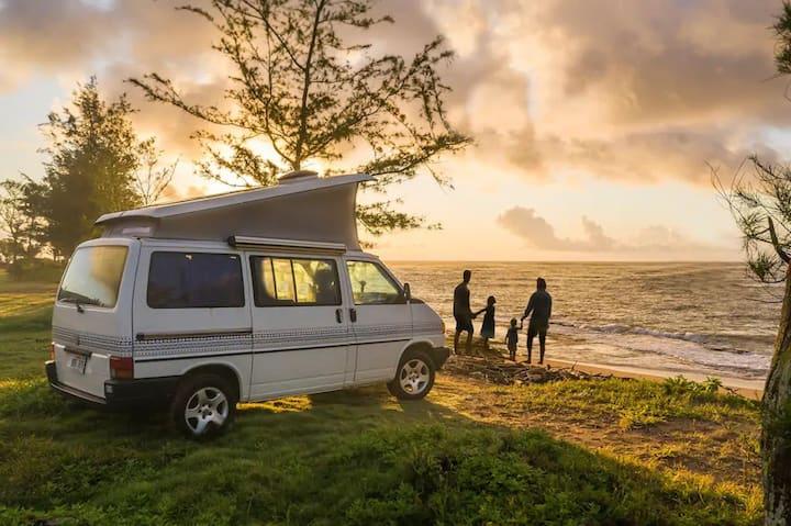 """""""Laka"""" Camper Van on Kauai"""