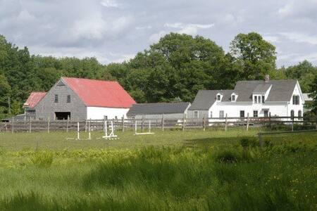 Lily Brook Farm, Hollis, Maine