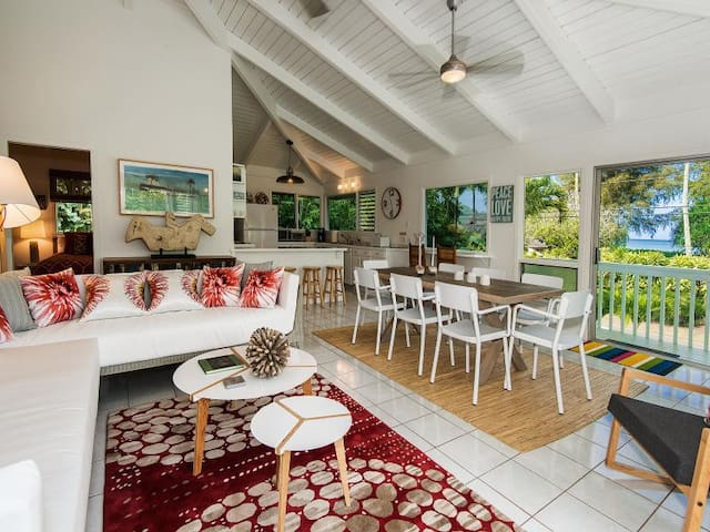 Hanalei Bay -  3 bedrooms with hot tub & game room - Hanalei - Hus
