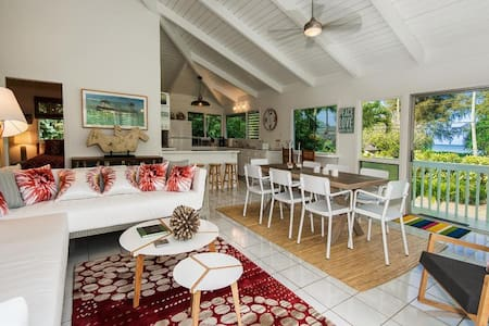 Hanalei Bay -  3 bedrooms with hot tub & game room - Hanalei - Rumah