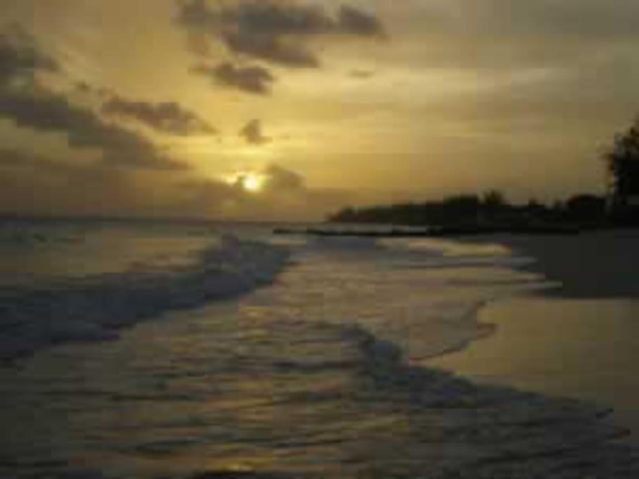 Welches beach at sunspot