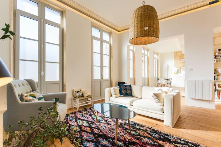 Appartamento Hotel particular - Gare St jean - Bordeaux - Apartamento