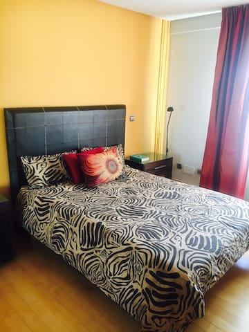 Dos habitaciones privadas con baño en Vitoria. - Vitoria-Gasteiz - บ้าน
