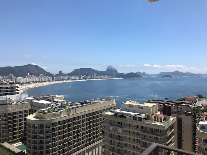 AlexRioFlats® Apartamento Arpoador Vista Mar