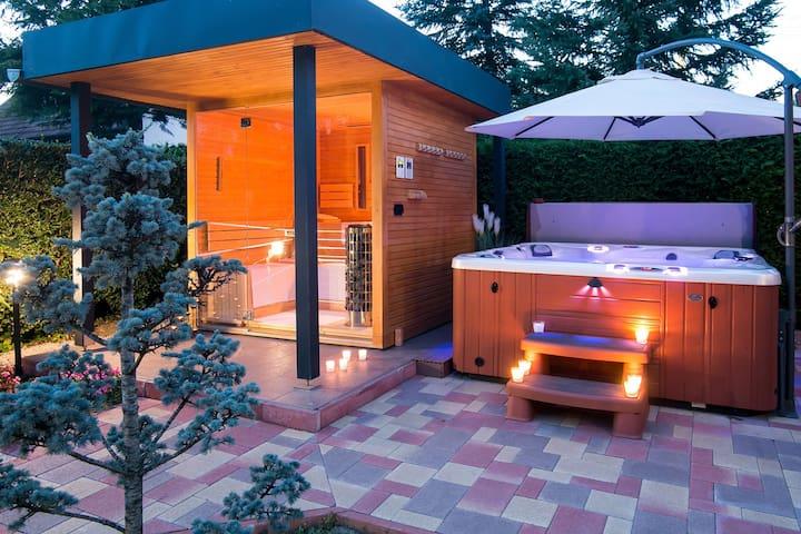 Privat Luxus Wellness Villa- Enjoy