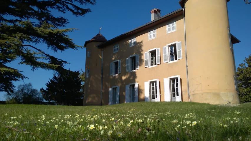 Chambre de charme au Château La Violette
