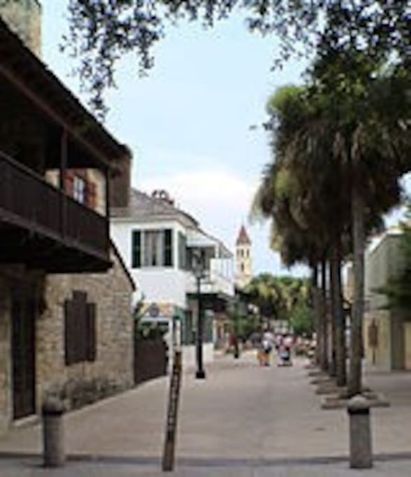 Short Drive To Downtown St. Augustine