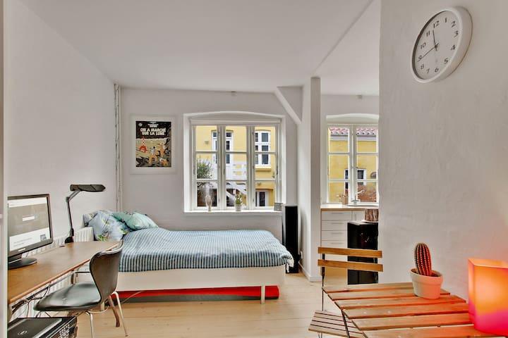 Skøn og Fornem lejlighed i det centrale Aarhus. - Arhus - Apartamento