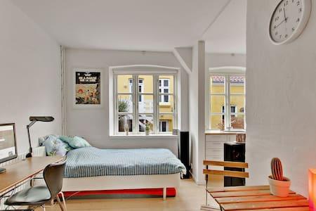Skøn og Fornem lejlighed i det centrale Aarhus. - Aarhus - Appartamento