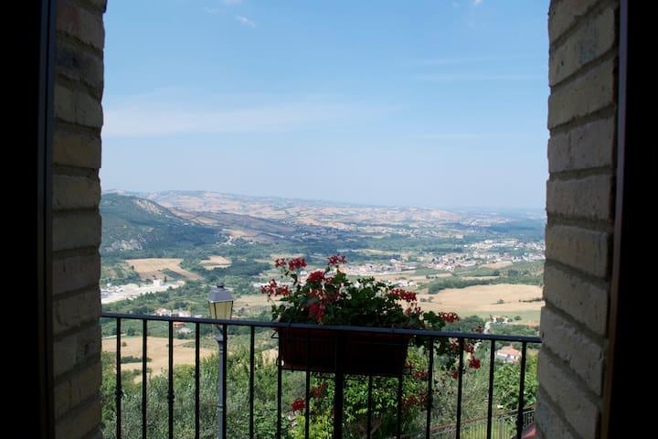 Panorama dall'Appartamento Faber